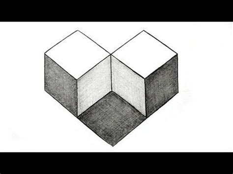 printable simple optical illusions how to draw the impossible penrose rectangle cool