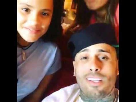 dimelo papi nicky jam y su hija youtube la hija de nicky jam fans de nicky jam youtube