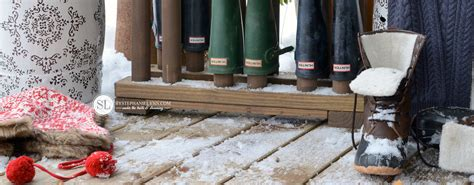 Boot Rack Plans by Wooden Boot Rack Plans To Make A Boot Organizer