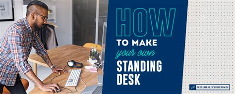 how to make a standing desk how to make your own standing desk back airrosti
