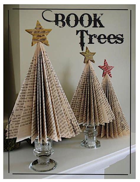 weihnachts dekor magazine folded book tutorials the bright ideas