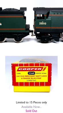 coopertrains new products locos