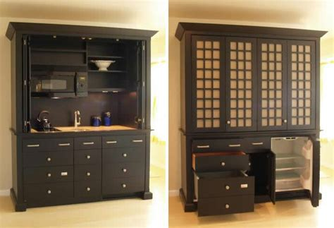 Armoire In Kitchen by Complete Mini Kitchens Tiny House Design