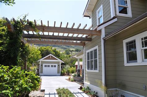 arbor over driveway areas outdoors living pinterest