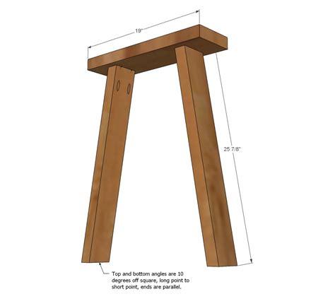 how to make a trestle desk trestle desk plans woodideas