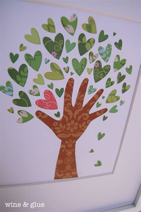 tree craft ideas 25 s day home decor ideas