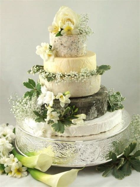Cheese Wedding Cake or Tower to feed 110 (Mixed Cake X)