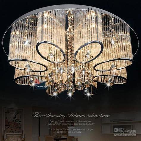 Stainless Steel Bathroom Lights Stock In Us New Modern Chandelier Living Room Ceiling