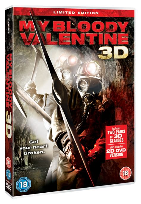 my bloody dvd my bloody 3d dvd review remember your vomit
