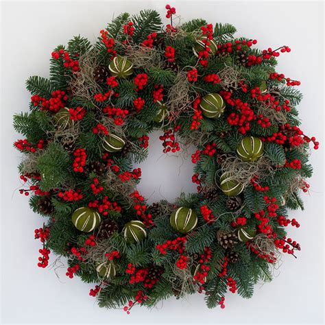 festive wreaths elle decoration uk