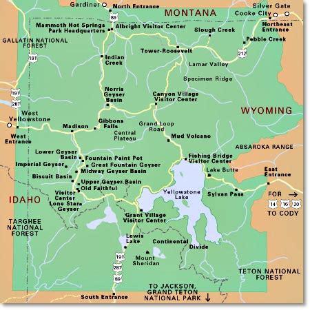 yellowstone national park lodging map explore amerika yellowstone national park