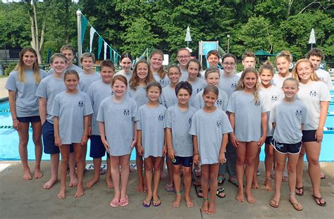 meet your hosts team the minisink swim club hosts 62nd annual town country all