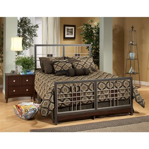 Hillsdale Bed Frame Hillsdale Furniture Tiburon Magnesium Pewter Bed