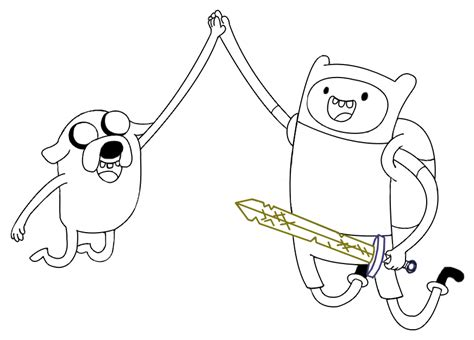 take me there draw and design your adventure books finn and jake lineart by mlpochea on deviantart