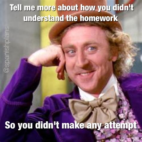Classroom Memes - student homework meme