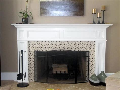 How To Build An Electric Fireplace Mantel by How To Build A Fireplace Mantel From Scratch Diy Home