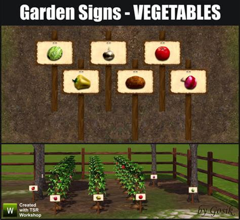 Garden Signs For Vegetables Gosik S Garden Signs Vegetables Updated