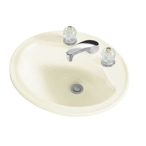 sterling bathroom fixtures faucet 442008 96 in biscuit by sterling