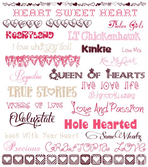 free printable valentines fonts valentine s day fonts free adoption profile font