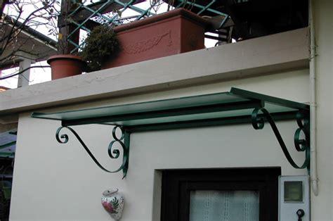 tettoie ferro battuto stunning tettoie realizzate in vetro temperato sabbiato