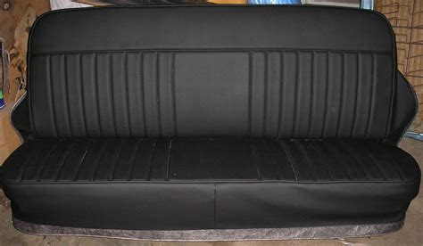 School Upholstery by Plain Johnny Chevy Truck Bench Seat Covers