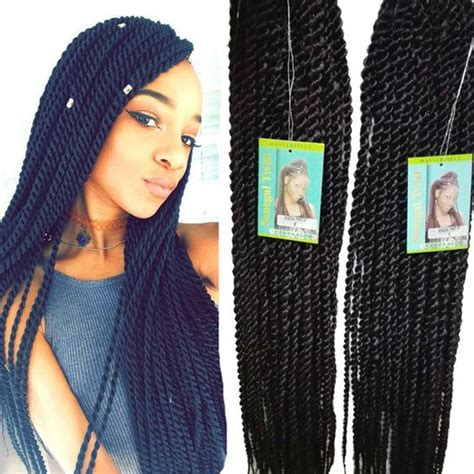 freetress braid bulk pre rod senegal twist 16 inch senglese twist crochet hair crocheted senegalese twists
