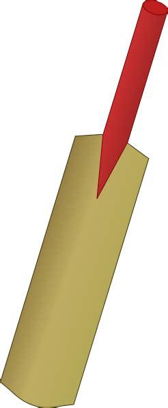 Cricket Bat clip art Free Vector / 4Vector
