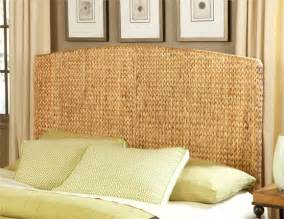 really awesome traditional modern seagrass headboard