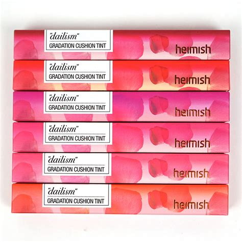 Lip Tint Cusion Heimish heimish dailism gradation cushion tint review