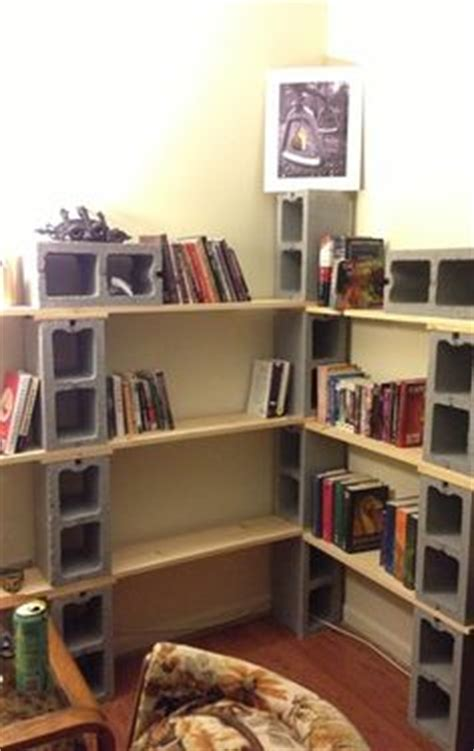 block bookshelves 1000 ideas about cinder block shelves on