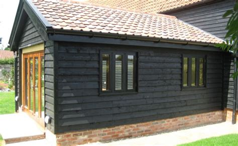 Design Of Garage single storey extension on grade ii listed barn