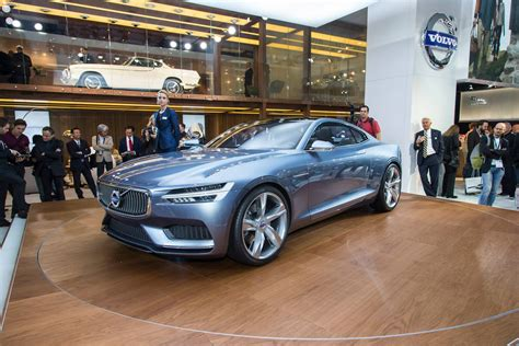 volvo roadster volvo concept coupe plug in hybrid steals the show in