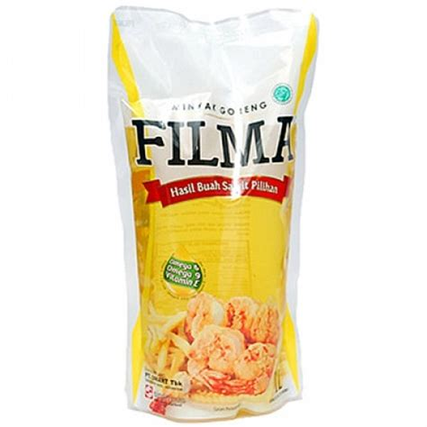 Minyak Filma filma cooking no cholesterol 1ltr refill