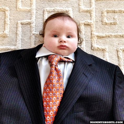 Baby Suit Meme - baby suiting a photo meme where babies are dressed in