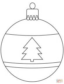 baubles to colour in bauble ornament coloring page free printable