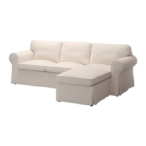 cover for loveseat with chaise ektorp cover for loveseat with chaise lofallet beige ikea