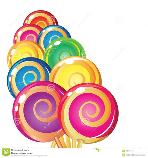 printable lollipop images border of lollipops stock vector image of background