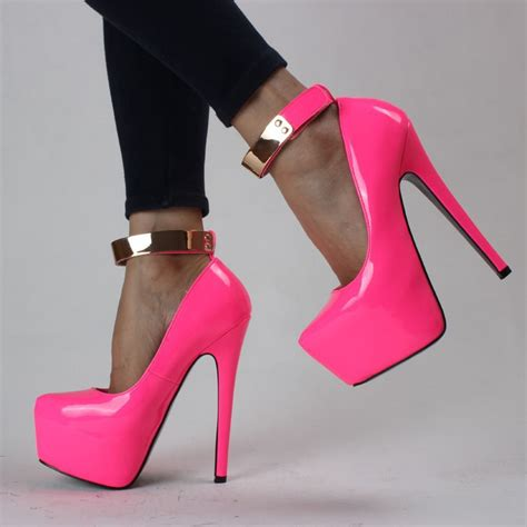 ultra high heels new 2014 neon color 13cm 16cm patent