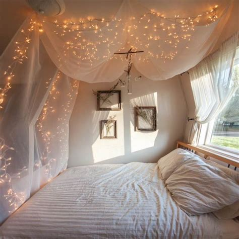 cheap bedroom fairy lights black drape tulle instead of white on ceiling with blue