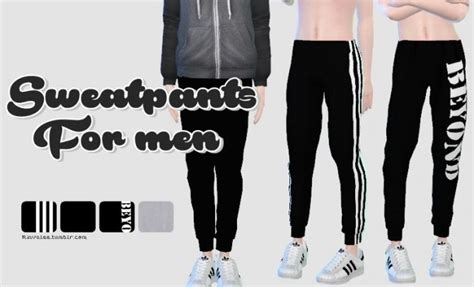 sims 4 clothing for females sims 4 updates sims 4 updates rinvalee clothing male sweatpants for
