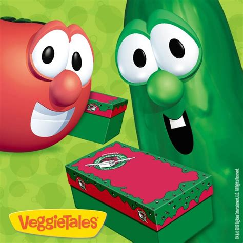 operation christmas child veggietales eat your veggies