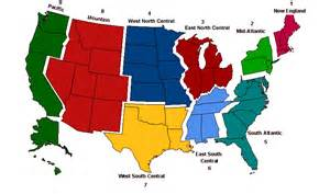 us regions map sentinel physician regional map