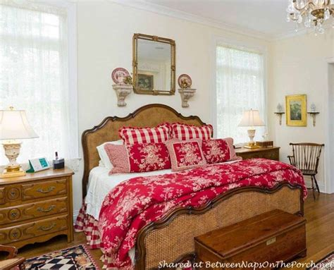 french country toile bedding tour a beautiful victorian home rebuilt after a devastating fire