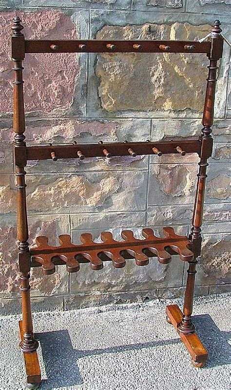 Castle Close Antiques   victorian mahogany hall stand / boot rack   Furniture