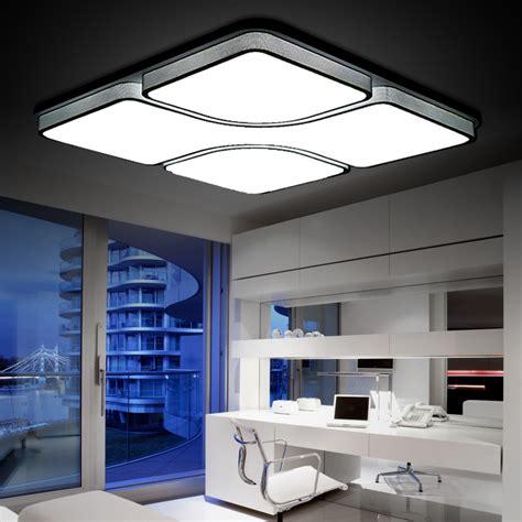 64w modern led ceiling light led ceiling light modern living room l square ceiling l panel light free shipping in