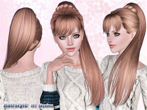 skysims hair child 204 sims 3 pinterest sims 14 best images about sims 3 hair on pinterest