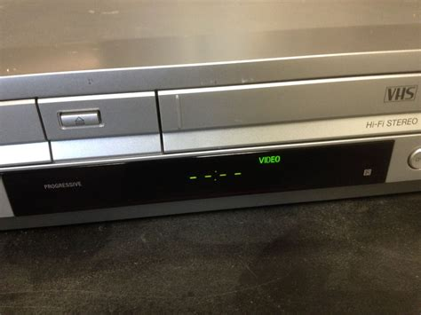 s lv sony slv d370p dvd vcr progressive scan combo player