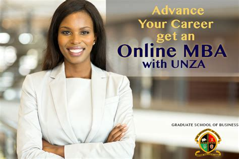 King Mba Tuition by The Of Zambia Graduate School Of Business