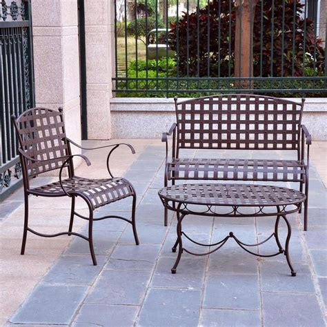 Wrought Iron Lounge Chair Patio 1000 Ideas About Iron Patio Furniture On