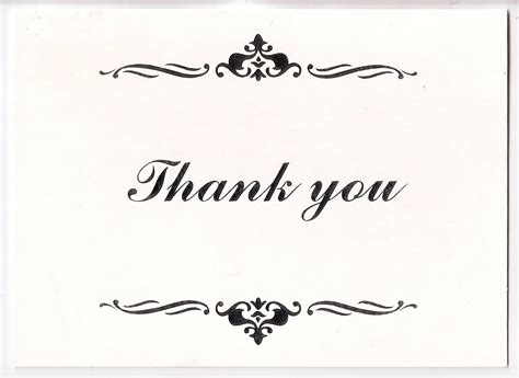 Thank You Gift Card - thank you cards weneedfun